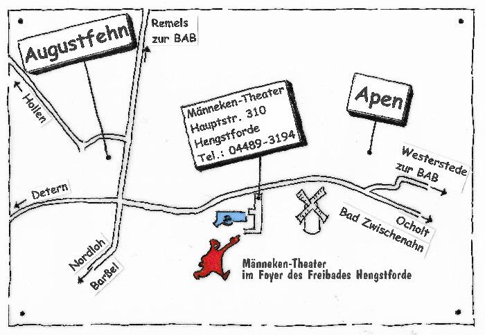 Männeken Theater, Hauptstraße 377, 26689 Apen-Hengstforde