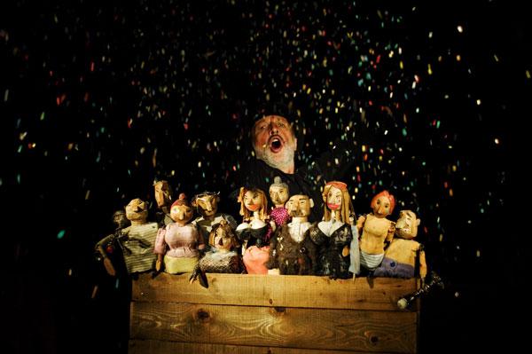 Die Bettleroper · Puppentheater Gugelhupf